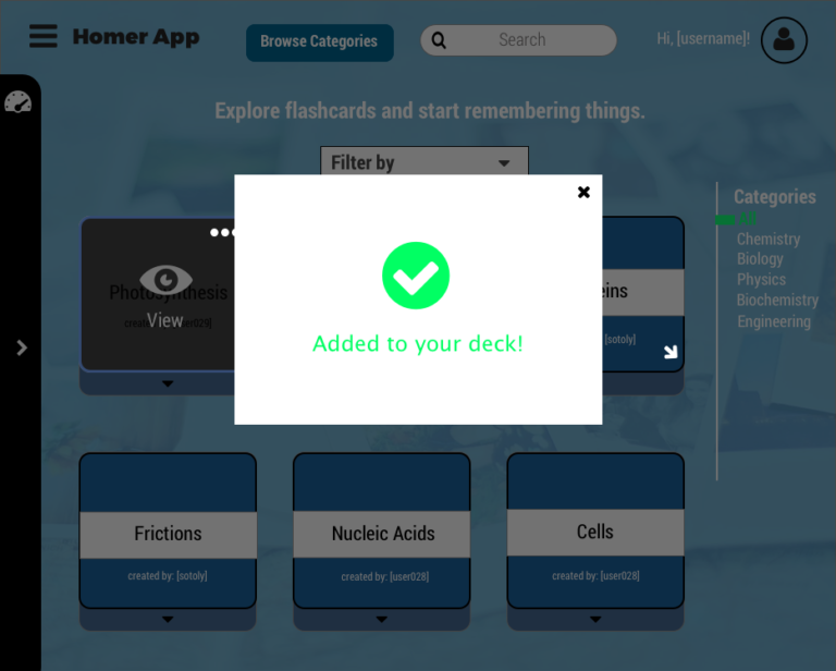 br categories add deck confirmed